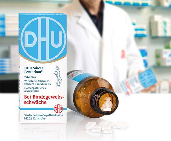 DHU Silicea Pentarkan Tabletten in der Apotheke