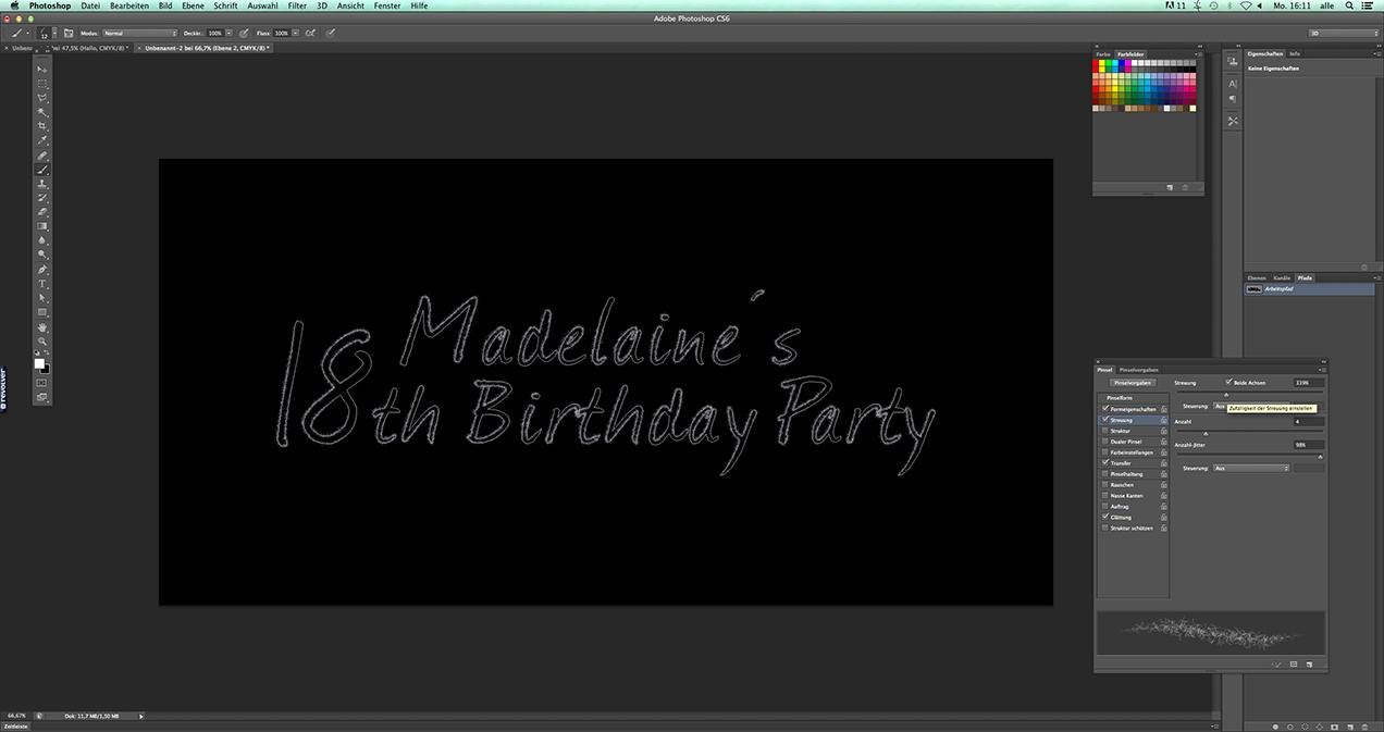Blogbeitrag: Photoshop Tutorial: Schriftzug im Feuerwerkslook 04