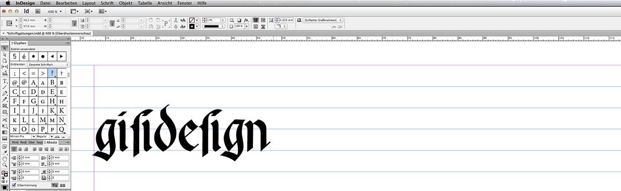 Blogbeitrag: Schriftart Rotunda