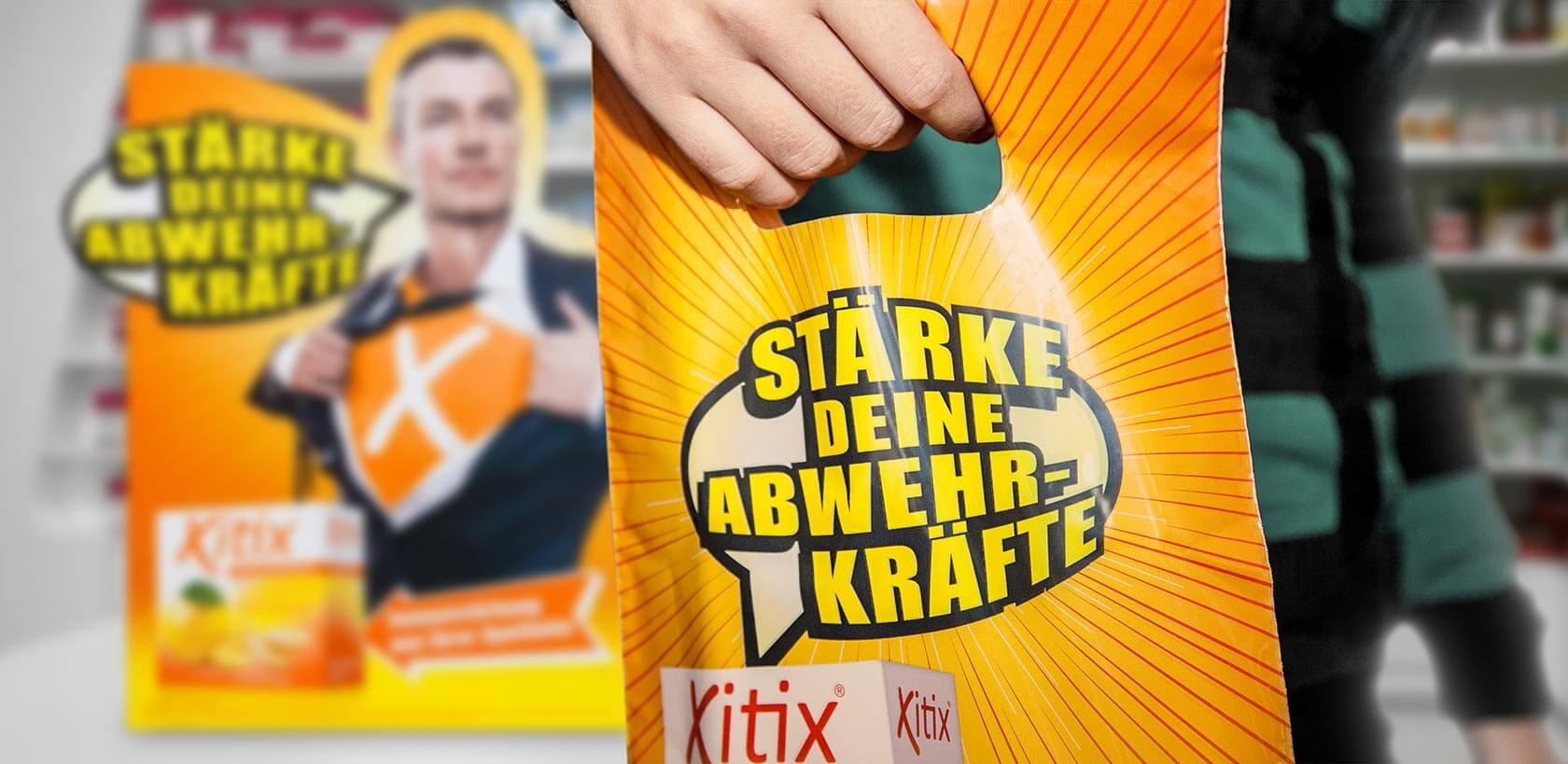 Xitix Tragetasche, Gestaltung