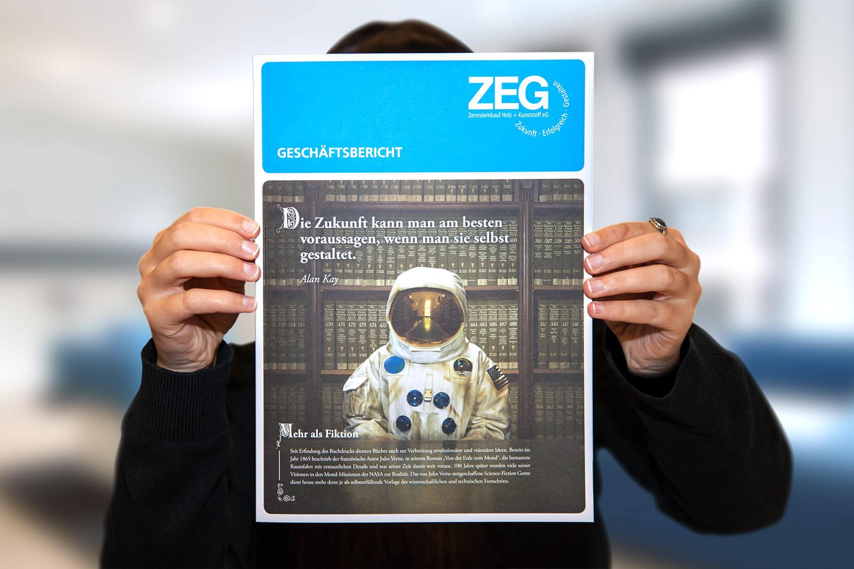 ZEG Geschäftsbericht – Cover