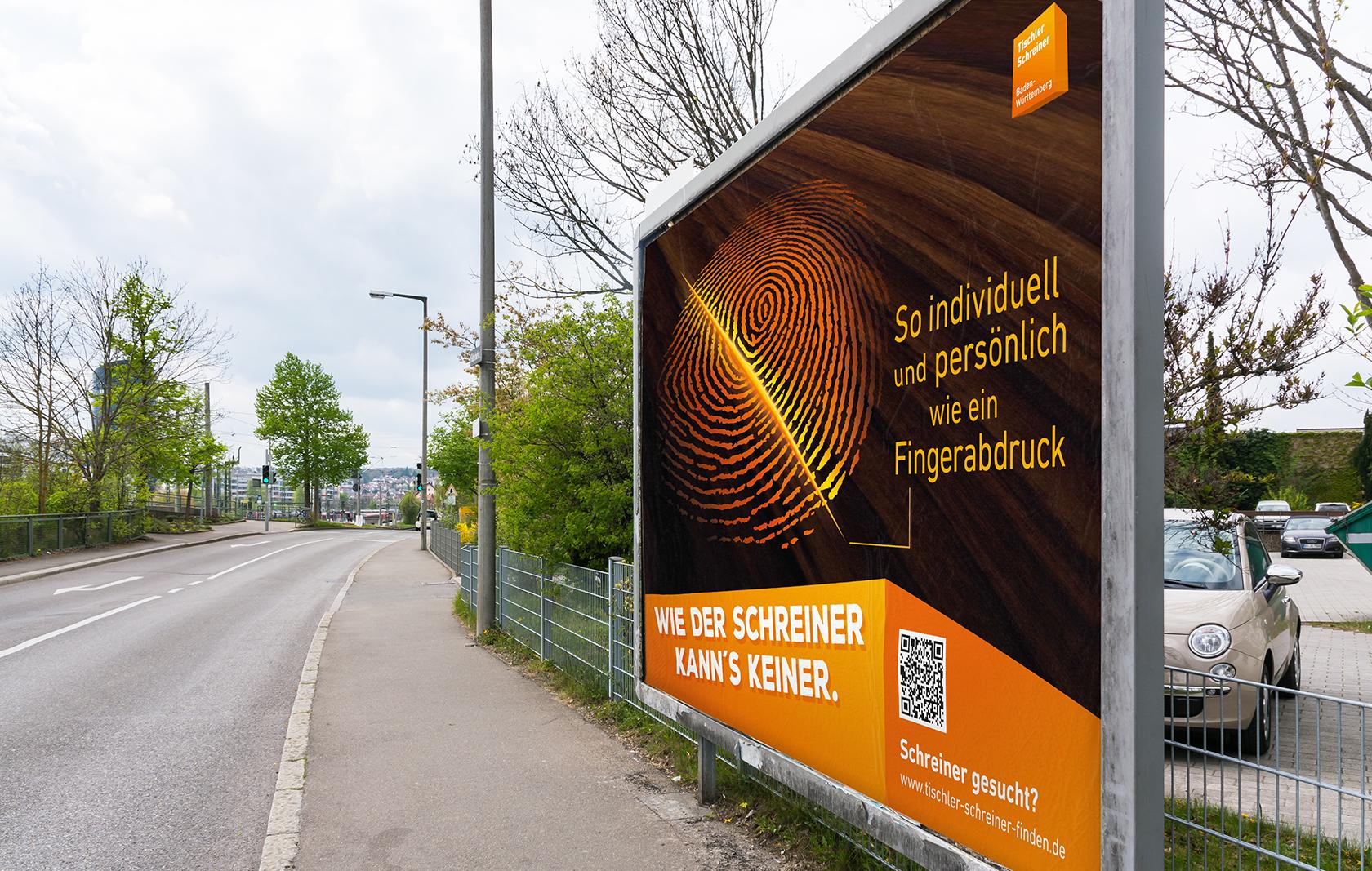 Landesfachverband Schreinerhandwerk Baden-Württemberg – Großfläche DIN A0