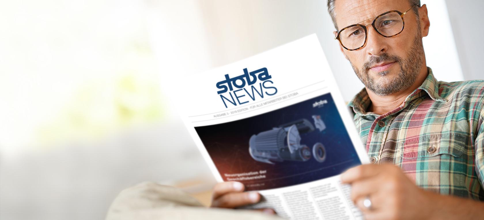 stoba group Mitgliederzeitung – stoba NEWS