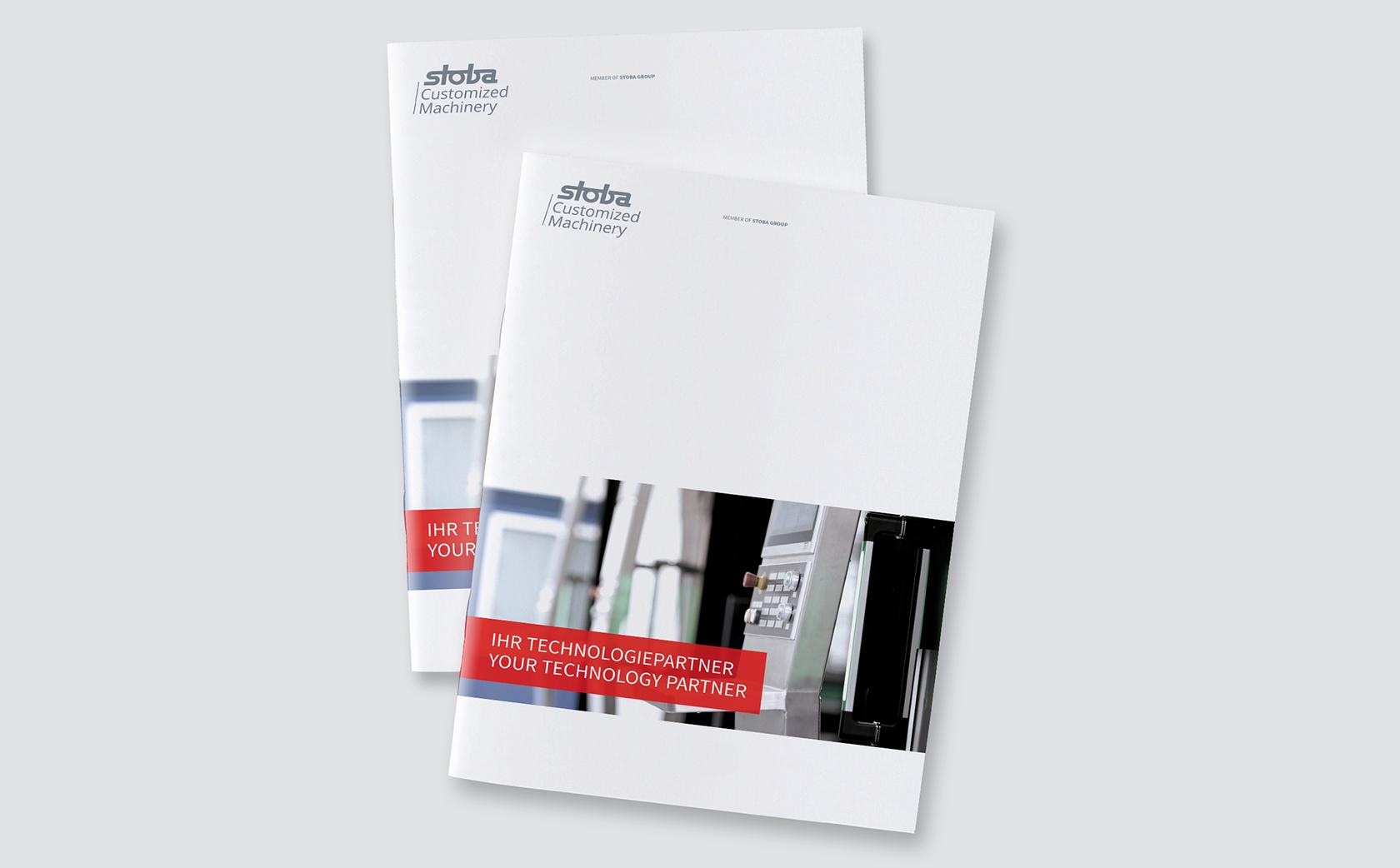 stoba Customized Machinery – Unternehmensbroschuere